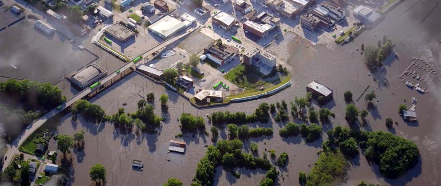 Vincennes, IN commercial storm cleanup